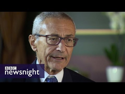 John Podesta: 'I'm fully into the resistance' - BBC Newsnight