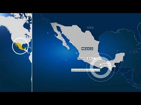 Messico, terremoto magnitudo 7.5, epicentro nello stato di Oaxaca: nè danni nè feriti