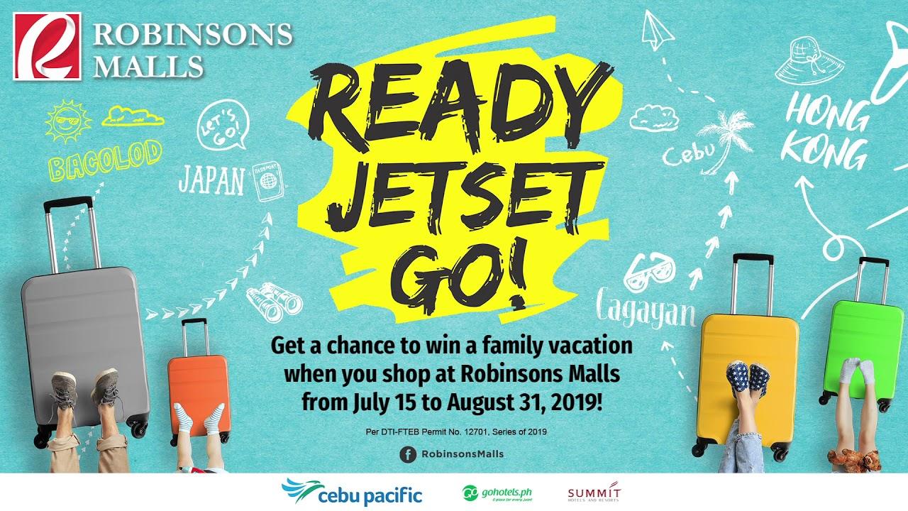 Ready Jetset Go