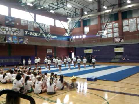 Cascade Middle School Cheer Camp At  Heritage