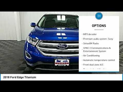 2018 Ford Edge Hudson WI 8T680
