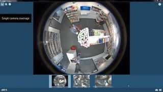 Пример работы панорамной камеры