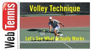 Tennis Volley Technique - The Importance of the Front Shoulder