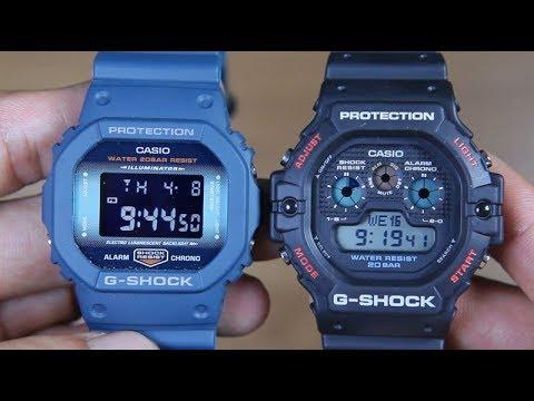 Casio G Shock Dw 5600cc 2 Vs G Shock Dw 5900 1