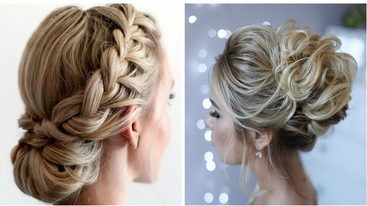 2018 Prom Hairstyles Youtube