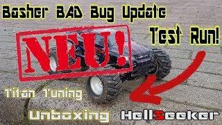 Basher Bad Bug Update/UB-HellSeeker/Tuning/Test Run | HD+ | Deutsch