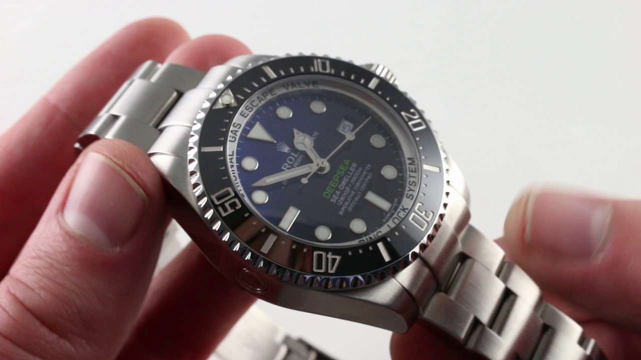 7088548570c Rolex Oyster Perpetual Sea Dweller Deep Sea Luxury Watch Review ...