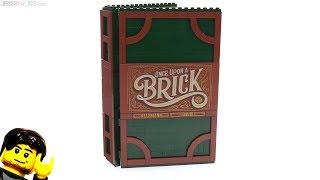 Baixar LEGO Ideas Pop-Up Book review! set 21315