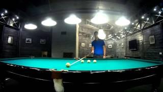 Видео-урок бильярда Урок №6 - Способ нахождения правильной резки
