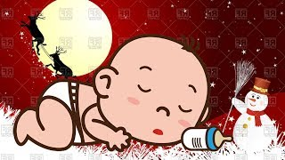 Relaxing Music Guitar | Baby Brain Development - Bedtime Songs - Christmas Songs