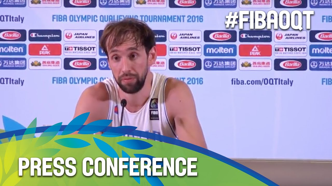 Italy v Mexico - Press Conference - 2016 FIBA Olympic Qualifying Tournament