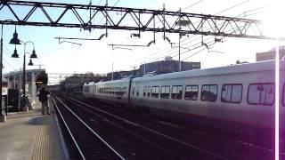 Amtrak North East Corridor: Boston-South Station bound Acela express train @ Port Chester!