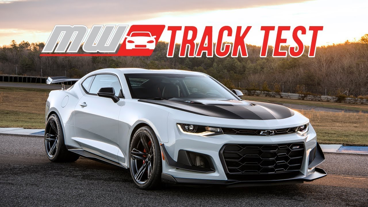 2018 Chevrolet Camaro Zl1 1le Track Test Youtube