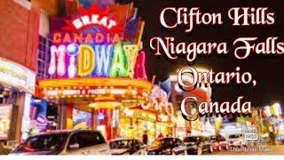 a walk to remember at clifton hill, niagara falls Canada