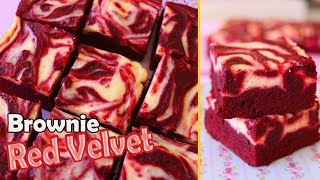 BROWNIE RED VELVET SUPER LINDO – FAÇA E VENDA