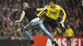 Top 10 Player vs Fans | Crazy Football Fights Crazy angry moments in football history