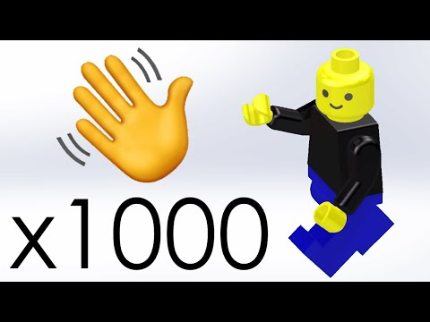 I animated each of my 1000 subscribers as a minifig and then thanked each one (plus channel talk!)