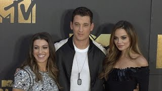 Miles Teller & Keleigh Sperry #MTVMovieAwards Red Carpet