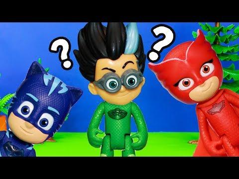 PJ MASKS Nickelodeon Romeo Steals Gekko PJ Mask Suit Toy Video Parody