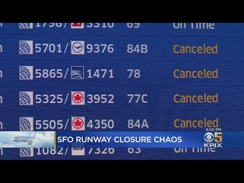 More Flight Delays And Cancellations At SFO Due To Runway Repairs