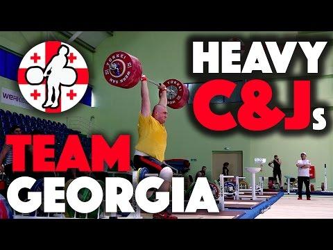 Team Georgia - Heavy Clean & Jerk Session / Big Friday