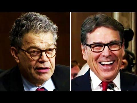 AWKWARD: Rick Perry Makes Awkward Sexual-Innuendo Joke to Al Franken at Hearing & It's So Awkward