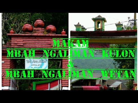 Makam Mbah Ngaliman Kulon & Wetan - Sawahan Nganjuk Jawa Timur