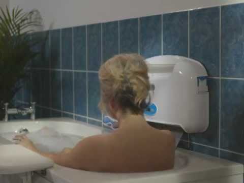 Aqualift bath lift commercial - YouTube