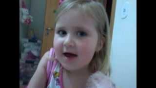 Aprenda inglês com criança de 3 anos (Alana Paulini)