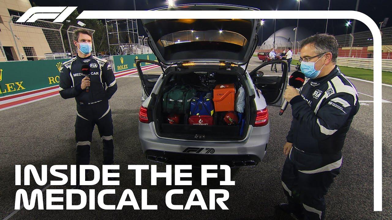 Inside The F1 Medical Car