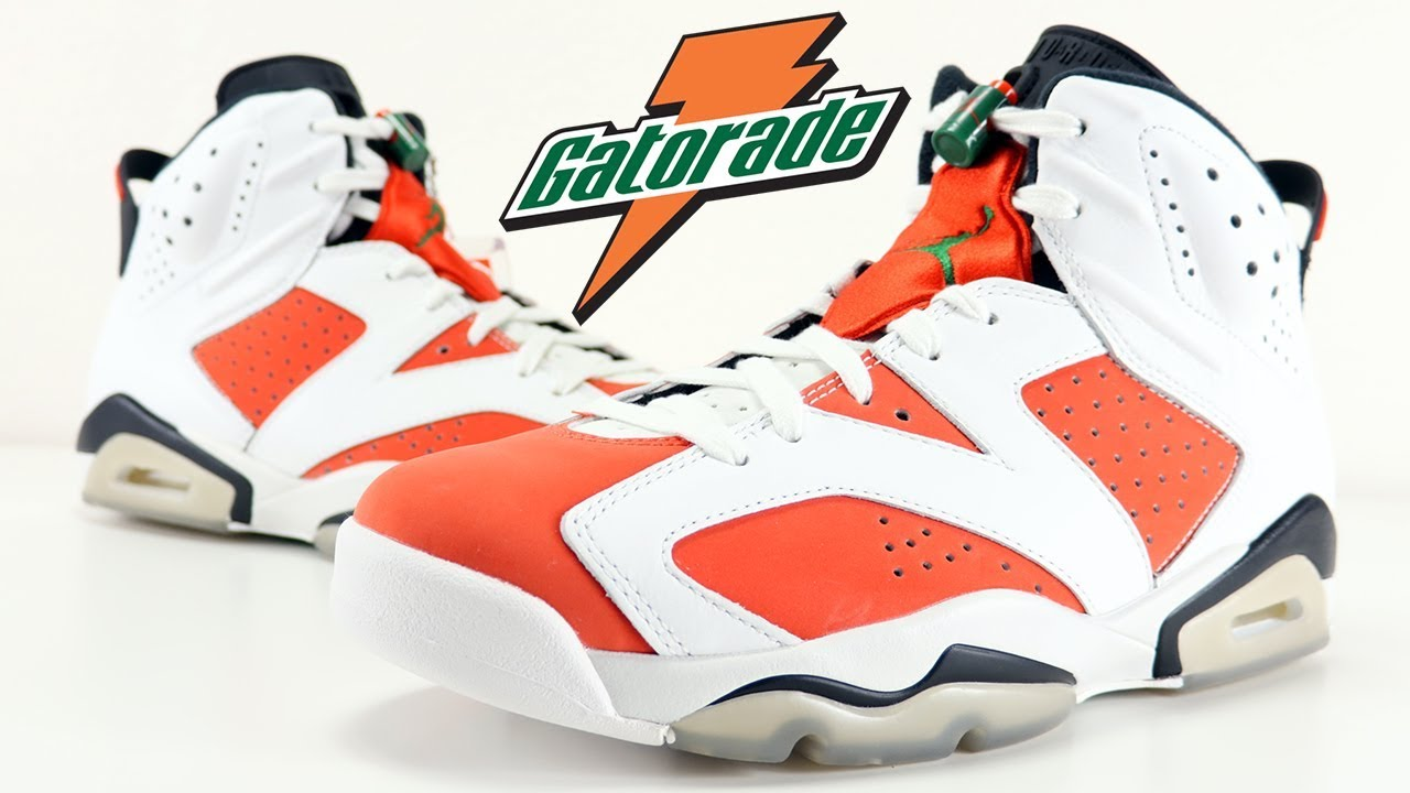 bcc78b7342a AIR JORDAN 6 GATORADE LIKE MIKE REVIEW - YouTube