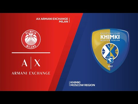 AX Armani Exchange Milan - Khimki Moscow Region Highlights   Turkish Airlines EuroLeague RS Round 26