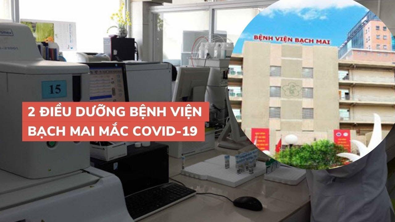 Bệnh nhân thứ 86, 87 nhiễm virus corona là hai nữ điều dưỡng Bệnh viện Bạch Mai