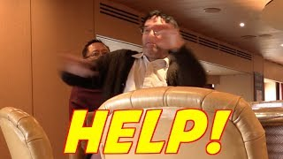 Old Man Pranks Cruise Ship Bartenders!