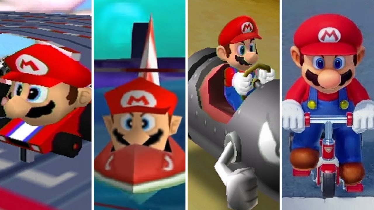 Evolution of Racing Minigames in Mario Party Games (1998-2018)