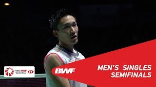 SF | MS | Kento MOMOTA (JPN) [1] vs NG Ka Long Angus (HKG) | BWF 2019