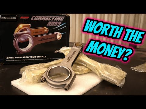 BUDGET FORGED CONNECTING RODS - UNBOXING & REVIEW