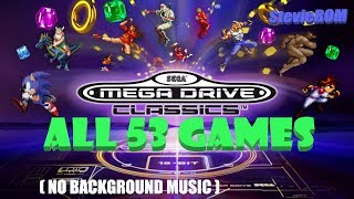 Sega Mega Drive Classics for Switch/PS4/Xbox One (Without Background Music)