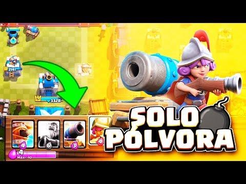 ¡PÓLVORA! | #RetoRoyale | Clash Royale