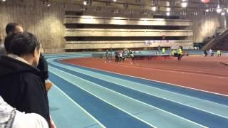 Чемпионат Москвы. Мужчины 1500 метров. 07.02.2015