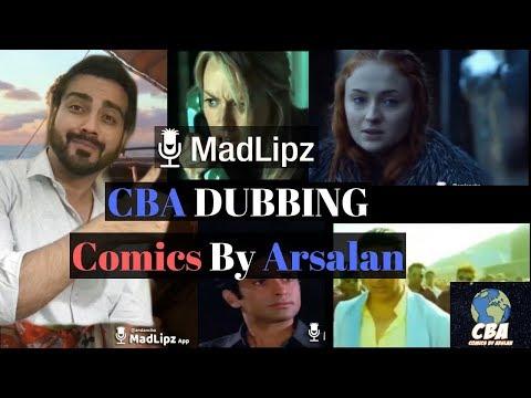 Mix Dubbing | CBA | Comics By Arsalan