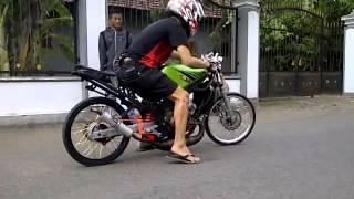 Setting ninja 2 tak rangka standart 155cc ( andre empek) | Rofik Rodian