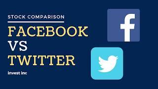 Stock comparison - facebook vs twitter