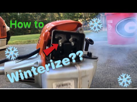 Part 2 How To Winterize Lawn Equipment, Plus Stihl Equipment Maintenance