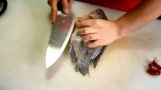Real Cooking: How to Butterfly a Fish