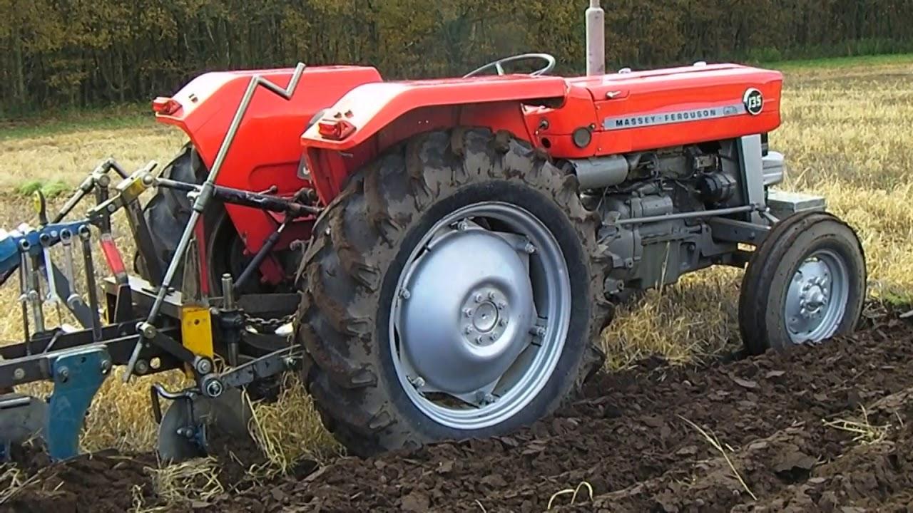 1975 Massey Ferguson 135 2.5 Litre 3-Cyl Diesel Tractor
