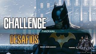 Batman Arkham Origins  - Desafio Challenge Panorama |Traje Skin Batsuit Batman ThrillKiller 1080p
