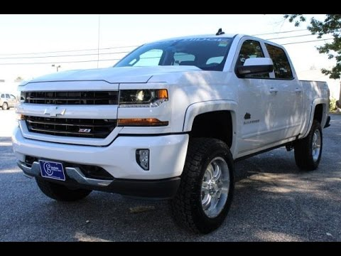 rocky ridge alpine white 2017 chevy silverado 1500 lt z71 live video youtube. Black Bedroom Furniture Sets. Home Design Ideas