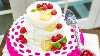 Recipe - Debbie Matenopoulos' Raspberry Lemon Cake - Hallmark Channel