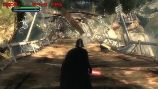 Star Wars The Force Unleashed - PC Gameplay - Played and Fraps Recorded on an ATI Radeon HD 3870 at 1280X720